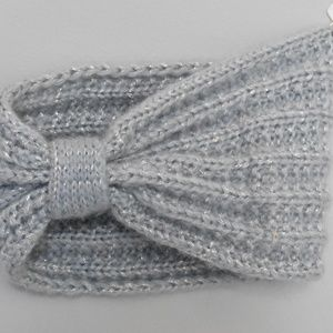 Accessories - Light Blue Knit Headband